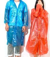 Wholesale 2015 fashion One time Raincoat Fashion Hot Disposable PE Raincoats Poncho Rainwear Travel Rain Coat Rain Wear Travel Rain Coat high quality