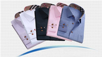 oxford shirts - 2015 New Spring Oxford men casual shirts plaid long sleeve mens shirt Fashion formal male shirts