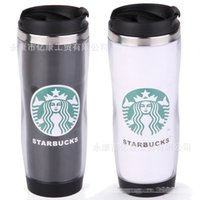 stainless steel double wall bottle - Starbucks Double Wall Stainless Steel Mug Starbucks water bottle Plastic Cup Creative Drinkware Tea Cup Birthday Gift with box E346