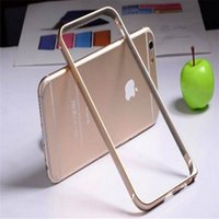 Wholesale Iphone Bumpers Mobile Phone Protection Shell Iphone or Ultra Thin Hippocampal Cingulate Circular Metal Frame
