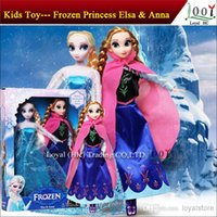 china toys - Free EMS baby frozen dolls kids toys action figures Anna Elsa dolls toddler toys china Mini order sets
