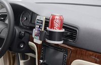 Cheap New Arrival Car Water Bottle Cup Glass Outlet Air Vent Phone Holder Car Drink Bottle Holder