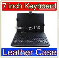 Wholesale DHL Inch keyboard leather case VIA A10 VC882 epad tablet pc MID JP