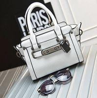 Wholesale New Arrival Fashion Famous C Designers Handbags Macaron Swagger cm Mini Women PU Leather Briefcase Shoulder Messenger Bag