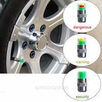 ford caps - 4Pcs set Mini Bar PSI Car Auto Tire Tyre Pressure Monitor Valve Stem Cap Sensor Indicator Alert DHL Shipping HM557