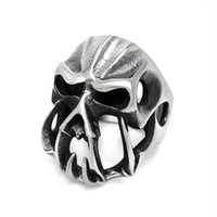 alternative rock fashion - Alternative personality wild fashion jewelry ring nightclub rock monster Men must strange ring ring SA887