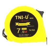 Wholesale TU M mm Metric Imperial Tape Measure Retractable Flexible Ruler Tape Ruler