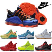 authentic shoes - Nike LeBron XII Low EP Basketball Shoes For Men Authentic Hot Sale Sneakers High Quality Trainers Mens Outdoor Sports Boots