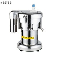 Wholesale Xeoleo Commercial Stainless steel Juice Extractor V W r min juice volume kg hr Juicer Machine