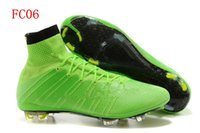 Wholesale 2015 Superfly IV FG Soccer Shoes Magista Obra FG Football Boots Men High Ankle Soccer Cleats CR7 original brand