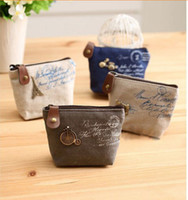 Wholesale New Vintage Zipper Coin Purse Lovely Coin Bag Silicone Money Bag Purse wallets Mini bag