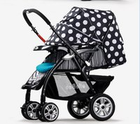 Only the extreme stroller baby pram - New to extreme high European landscape pram super shock absorption buggies children only summer and winter car amphibious baby cart