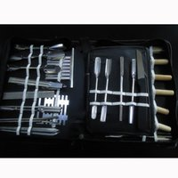 Wholesale 46Pcs in Set Portable Vegetable Fruit Carving Chisel Tool Engraving Chef Kit dandys