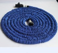 x hose - BIG Promotions X FT FT FT FT Expandable Flexible Blue Water Garden hose Pipe Good Quality