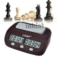 Wholesale LEAP Professional Compact Digital Chess Clock Count Up Down Timer Electronic Board Game Master Tournament QZ003R Z