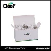 Tube Eleaf išmoka Melo atomiseur en verre Pyrex Tube en verre pour Melo Réservoir 100% Original New Arrivée