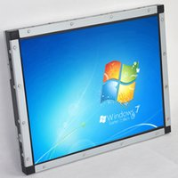 kiosk - 15inch Waterproof IP65 Dustproof SAW IR Resistive P cap Multi point Touch Screen Open Frame Monitor for ATMs Kiosks All in one