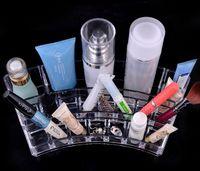 Wholesale 2016 acrilico Large Desktop cosmetic storage box Makeup Lipstick Cosmetic Storage Display Stand Holder