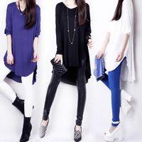 tunic tops - New Brand Fashion Women Irregular Swallowtail Batwing Long Sleeve Tunic Blouse Shirt Tops Plus Size M L XL XXXL