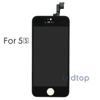 Wholesale For iPhone S C LCD AAAA Quality No Dead Pixels Touch Display Digitizer Screen with Frame with Small Parts Assembly Repalcement Parts