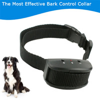 barking dog controller - Newest type KD663V Dog Anti Barking Bark Stop Training Sound Vibaration Collar Controller Pet Products Supplies