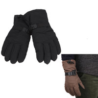Wholesale Waterproof Ski Snowboard Women Gloves Motorcycle Riding Cycling Windproof Winter Thermal Sports Skiing Snow Gloves Black Brown