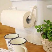 Wholesale Roll Paper Towel Holder Magnetic Bathroom Fridge Napkin Holder Rack