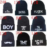 Wholesale 108 style New Arrival Beanies Football Beanie Caps Sports Team Hats Fashion knitted Beanies with Pom Skulls Beanie Pom Beanies hot Sale