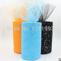 tulle spool - Double Line Shinning Tulle Roll Spool Wedding Tulle inch yards Sequin Tulle Glitter Tulle Tutudress