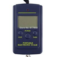 Wholesale 1pcs kg x g Electronic Portable Digital Scale lb oz Hanging Luggage Electronic kitchen balance Drop Shipping