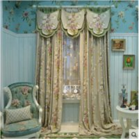 bedroom window height - 2016 New High End European Style Garden Jacquard Curtains Custom Carved Tulle Fixed Width m Height Unlimited Hot Sale A013