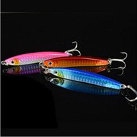 Wholesale 20pcs newly style Lead spoons fishing lures CM G hooks Fishing gear tackle Hard Bait sea freeshipping