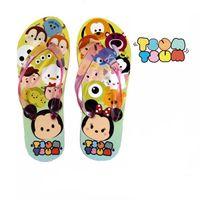 Wholesale TSUM TSUM boys girls slippers novelty cartoon Mickey Minnie mouse flat sandal slipper kids Flip Flops EVA children beach shoes HX