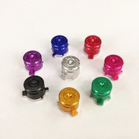 Wholesale 100 sets set PS3 PS4 Function Metal Button colors PS3 Function button PS4 function button For exchange For