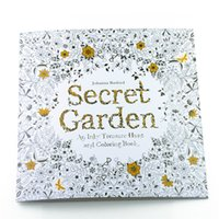 Wholesale Hot sale Secret Garden An Inky Treasure Hunt and Coloring Book For Children Adult Relieve Stress Kill Time Graffiti Painting Drawing Book