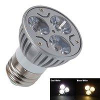 aluminum ce approval - 1PCS CREE E27 W LED Spot Light Die Cast Aluminum V White Warm White Spotlight Bulb Lamp With CE ROHS Approval