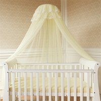 Cheap Summer Baby Bed Mosquito Mesh Dome Curtain Net For Toddler Crib Cot Canopy Crib Tent Mosquiteiro Cortina Para Cama Dossel