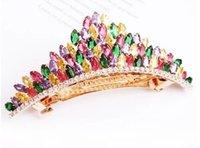 Wholesale more oclor diamond corown lady s hairpin cm myyhmz