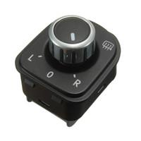 Wholesale New Mirror Adjust Switch For VW Golf GTI MK5 MK6 Jetta MK5 PASSAT B6 RABBIT TIGUAN order lt no track