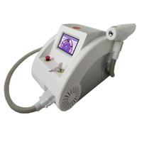 al por mayor q switched-pantalla táctil 2000MJ 1000w Q switched Nd YAG láser máquina de belleza de eliminación de tatuajes eliminación de la cicatriz del acné 532nm 1320nm 1064nm