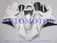 Wholesale O E M fairings for YAMAHA YZF R1 YZFR1 YZF R1 A31 YZF1000 white injection molding fairings