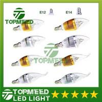 LED e12 bulb - Dimmable W Cree LED Candle bulb E14 E12 E27 light lamp high power led downlight led lamps chandelier lighting V CE ROHS