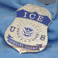 antique ice bucket - Militaire Medailles Collection Dhs Department Of Homeland Security Immigration And Customs Enforcement Ice Agents Metal Badge