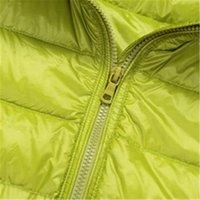 bag overcoat - top quality brand Ladies Short Winter autumn Overcoat Women Brand White Duck Down Coat with hat with bag Jackets S XXXL