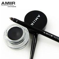 Wholesale AMIIR Waterproof Eyeliner pen Drying SUMI Black thick Do not faint makeup free gift eye liner brush Professional