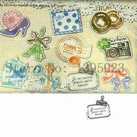 Wholesale Cute transparent PVC decorative memo stickers diy essential phone cartoon diary schedule stickers