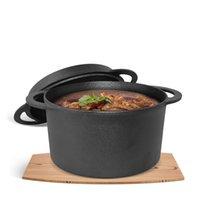 Wholesale Top Grade Dutch Oven New Cast Iron Pans Ovens Pot Enamel Pot Stew Pot Uncoated Multi purpose Pot