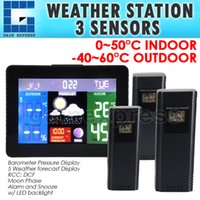 barometric pressure forecast - WS S Indoor Outdoor Temperature Weather Forecast Station WWVB RCC Thermometer Barometric Pressure RH Monitor Wireless Sensors