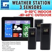 barometric pressure forecast - WS S Indoor Outdoor Temperature Weather Forecast Station DFC RCC Thermometer Barometric Pressure RH Monitor Wireless Sensors