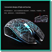 Wholesale high quality optical mouse usb with led colorful back light for LOL dota e sports also factory price for and retail